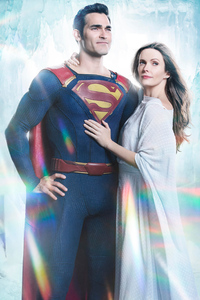 Tyler Hoechlin And Bitsie Tulloch In Supergirl