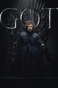 Tyrion Lannister Game Of Thrones Season 8 Poster