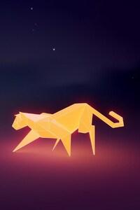 Ubuntu Leopard Art