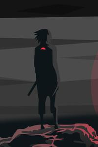 1242x2688 Uchiha Sasuke Naruto