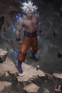 2160x3840 Ultra Instinct Goku Art 4k