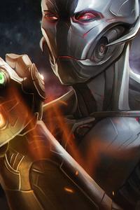 1080x1920 Ultron Infinity Gauntlet 4k