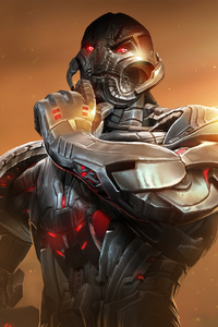 480x854 Ultron Marvel Contest Of Champions