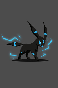 Umbreon Pokemon Minimal 4k