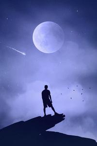 240x320 Under Moon Light