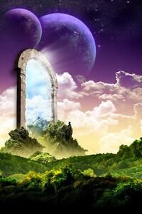 720x1280 Universe Door