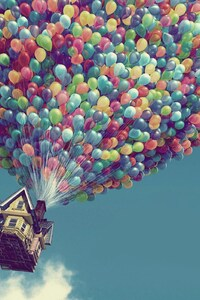 Up Movie Flying House