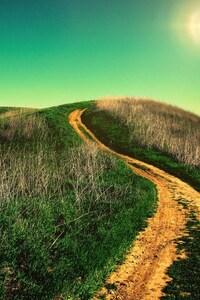 240x400 Uphill Road