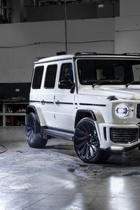 320x568 Urban Automotive Mercedes AMG G 63 2019 8k