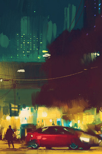 Urban Cityscape 4k