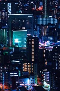 Urban Night City Down Town 5k