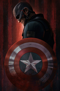 1125x2436 Usa Agent Captain America The Falcon And The Winter Soldier