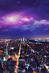 USA New York City Night 4k
