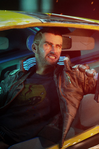 V In Cyberpunk 2077 New Game