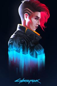 360x640 V In Cyberpunk 2077