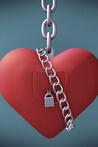 Valentine Day Heart Lock