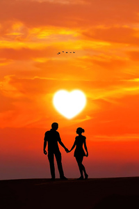480x854 Valentine Memories 4k