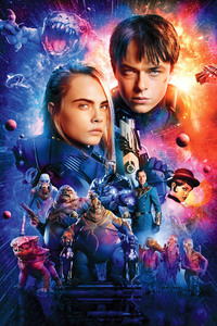 Valerian And Laureline In Valerian And The City Of A Thousand Planets 2017 4k