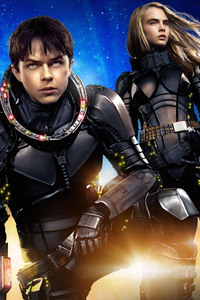 Valerian And Laureline In Valerian And The City Of A Thousand Planets