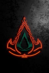 640x960 Valhalla Logo Game 5k