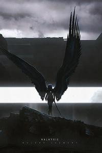 1125x2436 Valkyrie Darkness