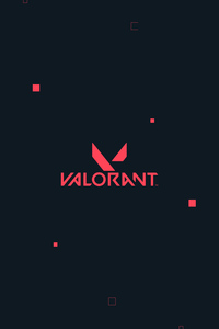 720x1280 Valorant Logo 4k