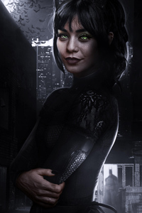 Vanessa Hudgens As Catwoman In Batman Movie