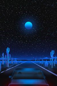 Vaporwave Road 4k