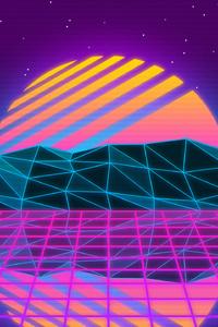 1080x2160 Vaporwave