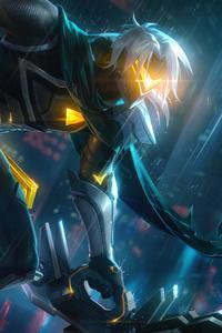750x1334 Varus Project League Of Legends 8k