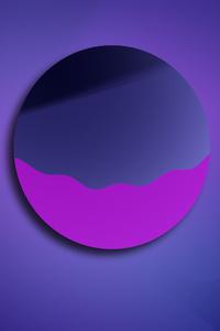 1440x2960 Vector Circle Graphics 5k