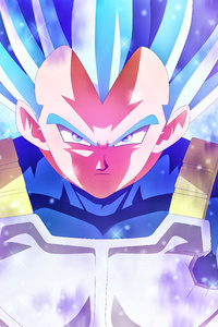 1280x2120 Vegeta Blue 5k Anime