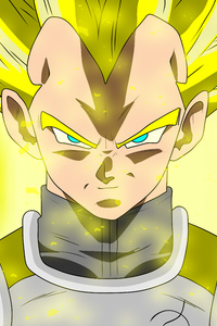 800x1280 Vegeta Dragon Ball Super 8k