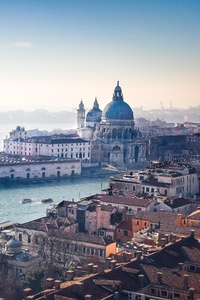 Venice Italy Beauitful City Old Buildings View 5k