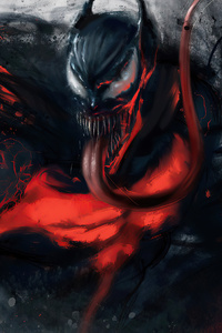Venom 2020 Monochrome