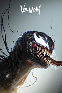 540x960 Venom 4k 2020 Art