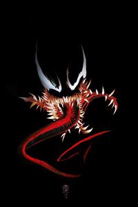 Venom 4k Digital Art