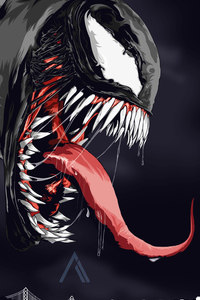 Venom 4k Digital Artwork 2018