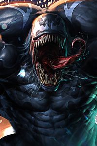 540x960 Venom 4k Face New