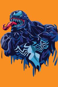2160x3840 Venom 4k Minimalism 2020