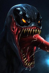 720x1280 Venom 5k Artwork