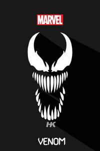 640x1136 Venom 5k Minimalism