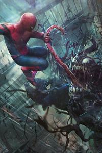 Venom And Spider Man