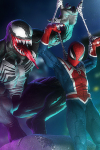 Venom Andspiderman