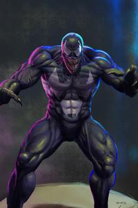 1080x2160 Venom Art4k