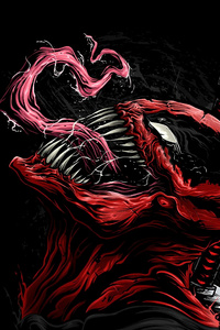 Venom As Deadpool Art