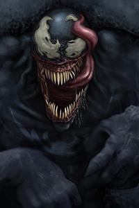 1280x2120 Venom Big Face 4k