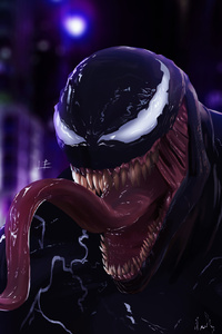 Venom Big Mouth Art