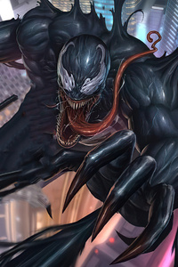 1280x2120 Venom Black Art