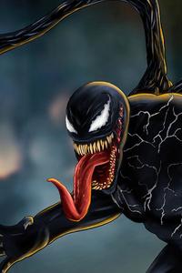 720x1280 Venom Carnage Battle Concept Art